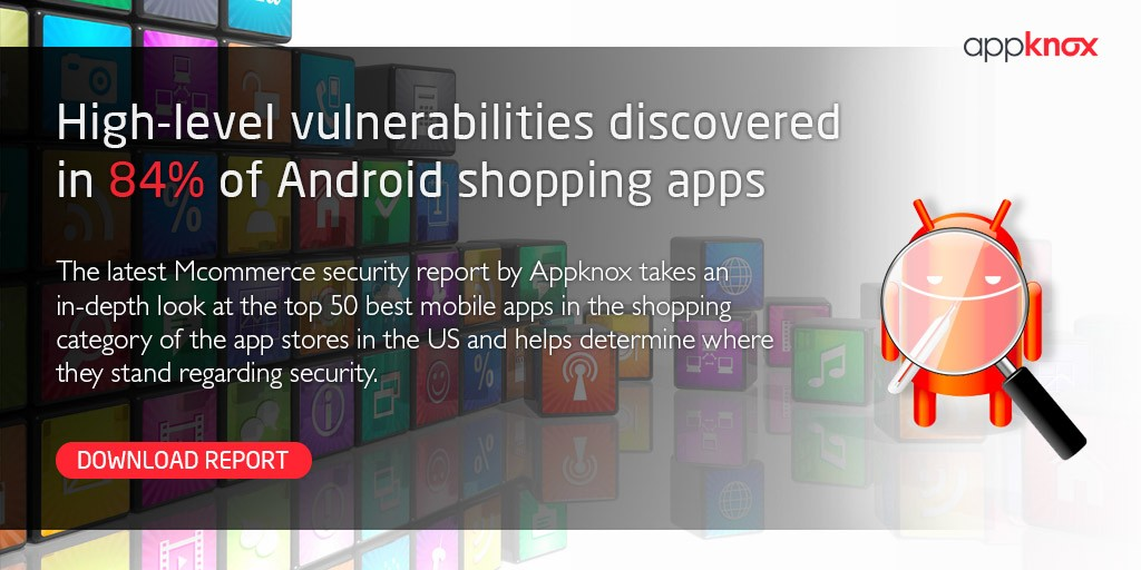 Appknox M-Commerce Security Report