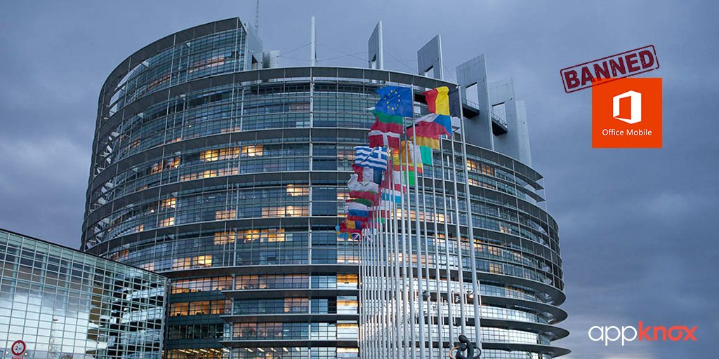 Microsoft Office Outlook Mobile App Banned by European Parliament!