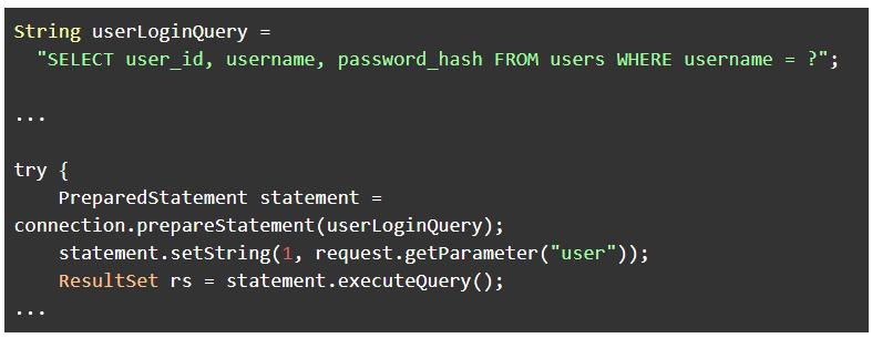 Parameterized query-1