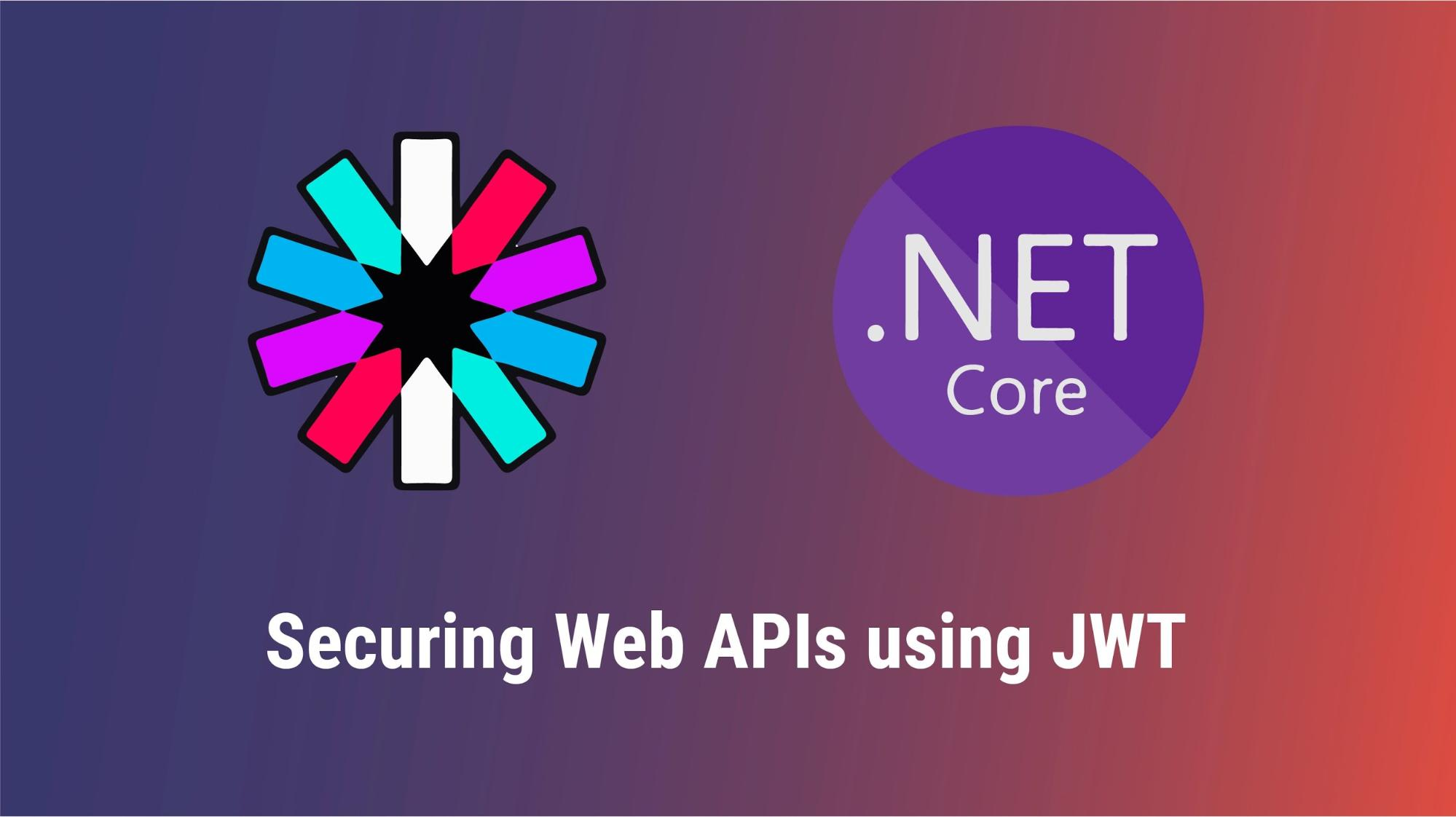 Securing web APIs using JWT