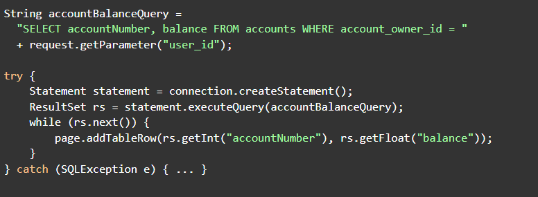 String accountBalance