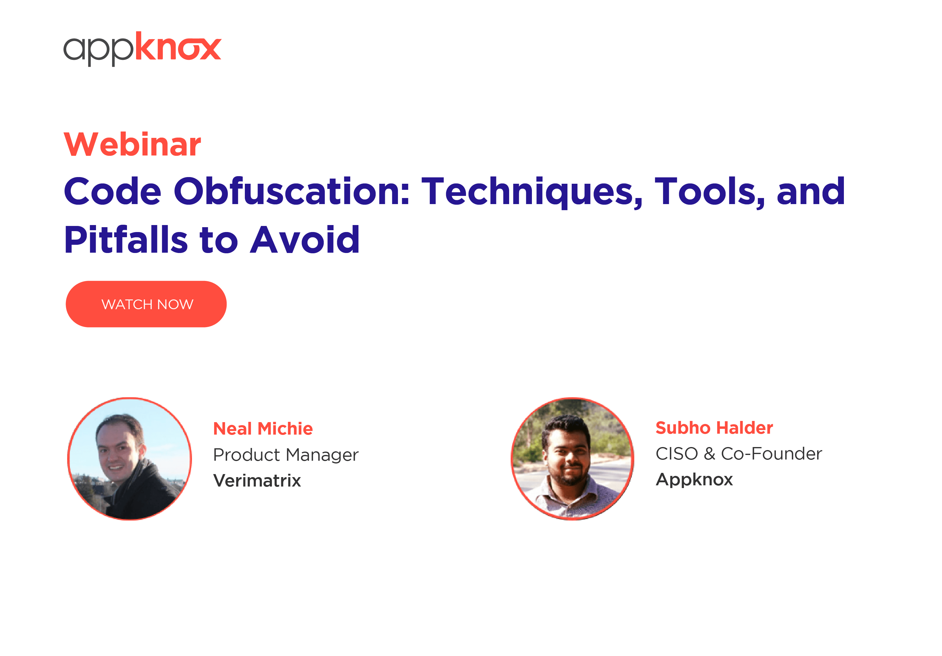 WEBINAR - Code Obfuscation- Techniques, Tools, and Pitfalls to Avoid