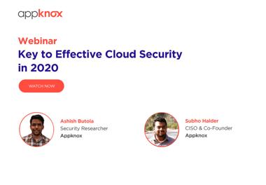 WEBINAR - Key to Effective Cloud Security in 2020 (1)