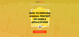 Webinar Replay   How to Perform Manual Pentest on Mobile Applications-1-2