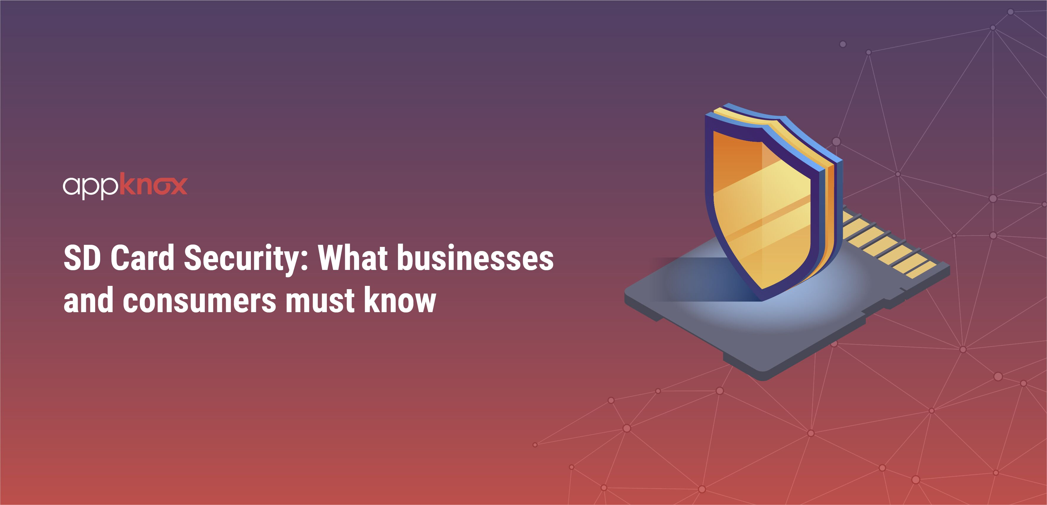 SD Card Security: What businesses and consumers must know
