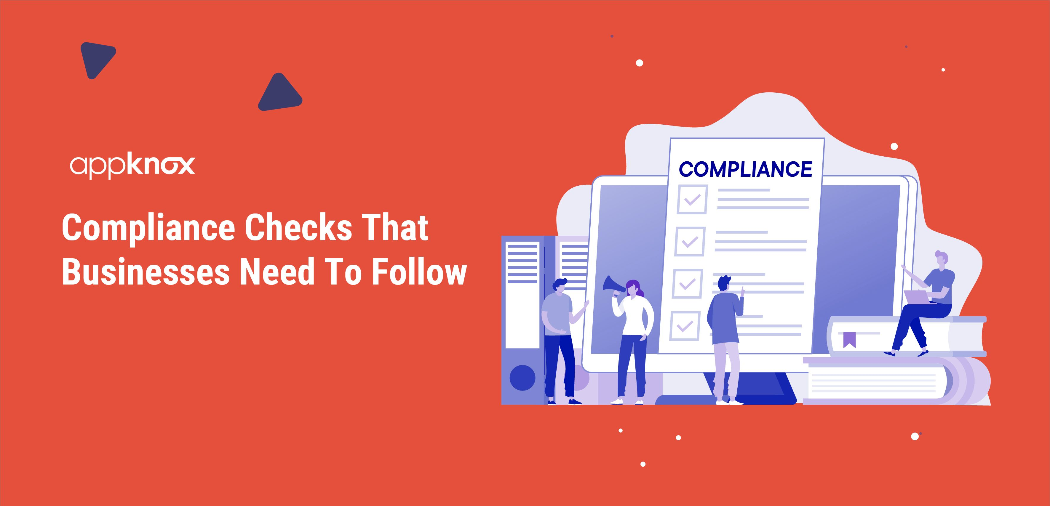 Compliance Checks That Businesses Need To Follow