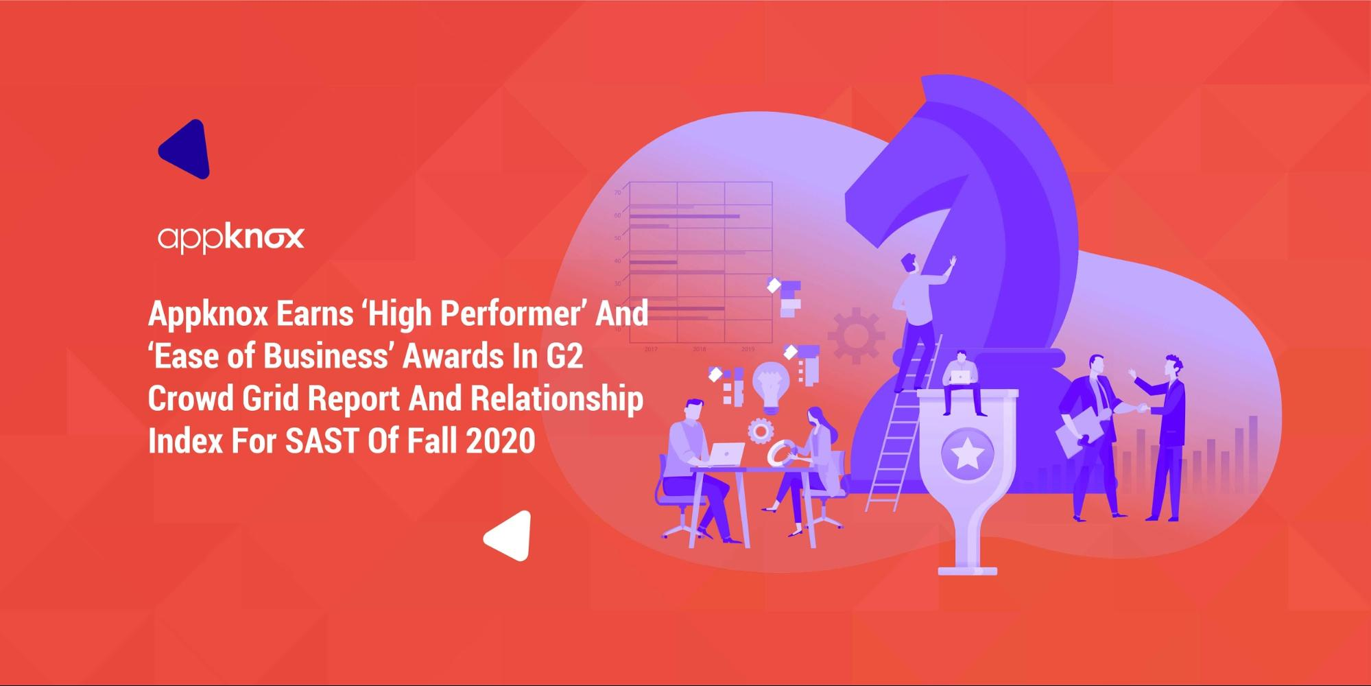 Appknox Earns 'High Performer' And 'Ease of Business' Awards In G2 Crowd Grid Report And Relationship Index For SAST Of Fall 2020