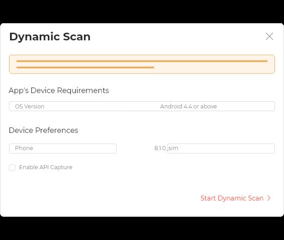 Dynamic Scan
