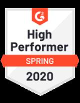 High performer Spring 2020