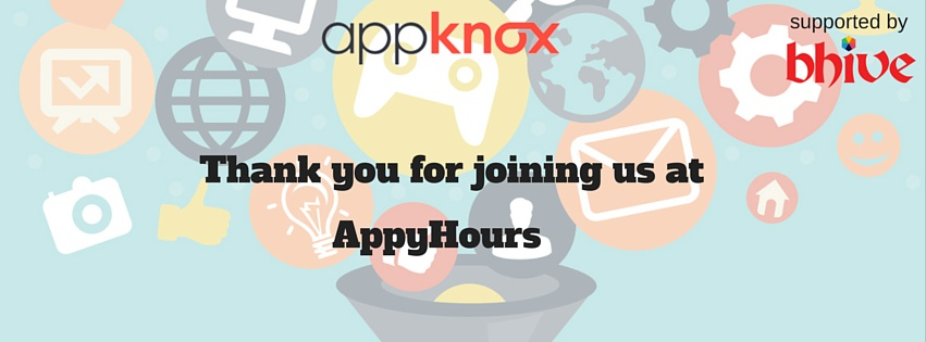 AppyHours Thank you