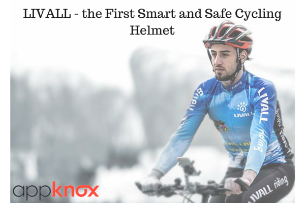 Make Calls and Listen to Music While You Ride With LIVALL - the First Smart and Safe Cycling Helmet