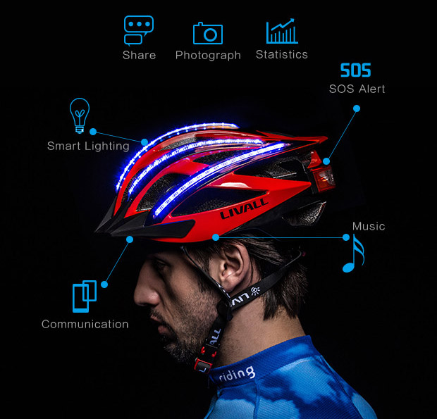 LIVALL - the First Smart and Safe Cycling Helmet
