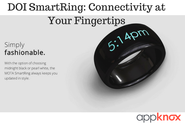 DOI SmartRing: Connectivity at Your Fingertips