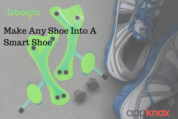 Make Any Shoe Into A Smart Shoe With Boogio