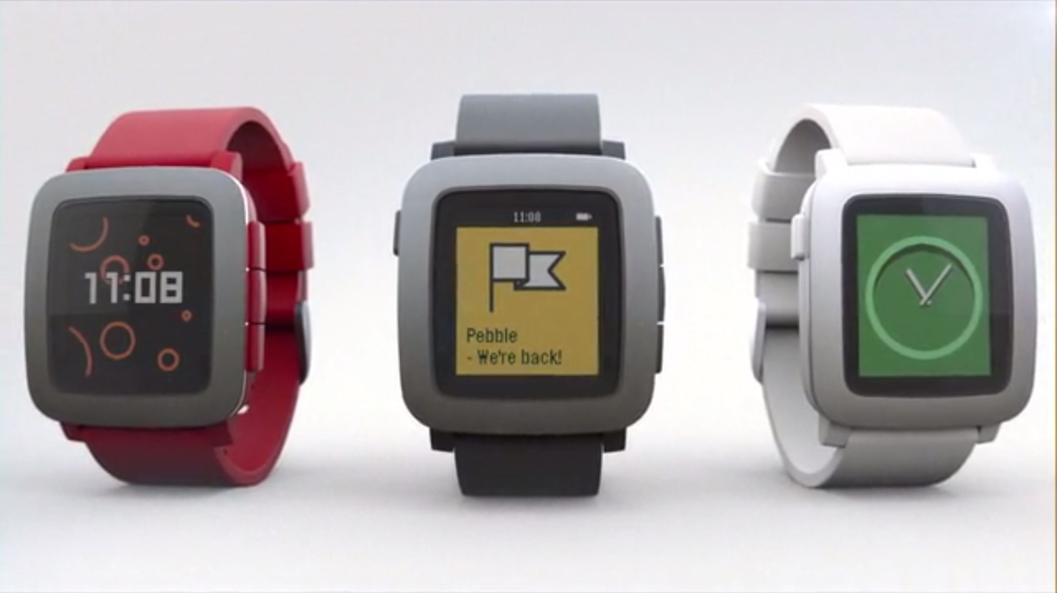 One Click To What Matters- Pebble Time Smartwatch