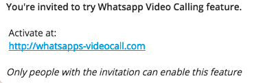 Beware - Whatsapp Video Call Scam is Back!