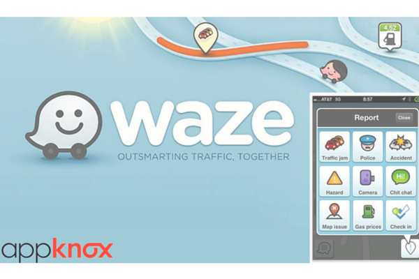 Now Outsmart Traffic Together With Waze App