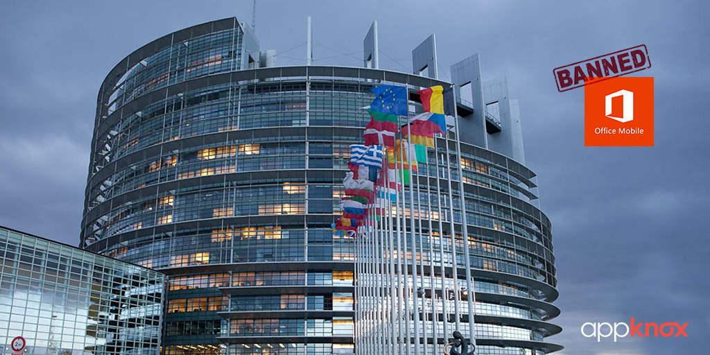Microsoft Office Outlook Banned by European Parliament!