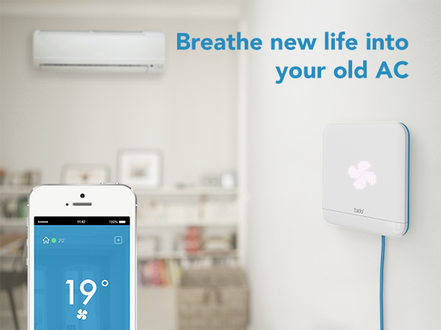 Breathe New Life Into Your Old AC- tado° Smart AC Control