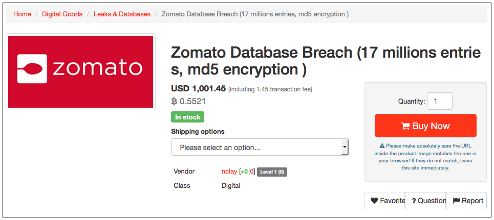 Zomato Hack - 17 Million Accounts Stolen. Here's Why It's Good!