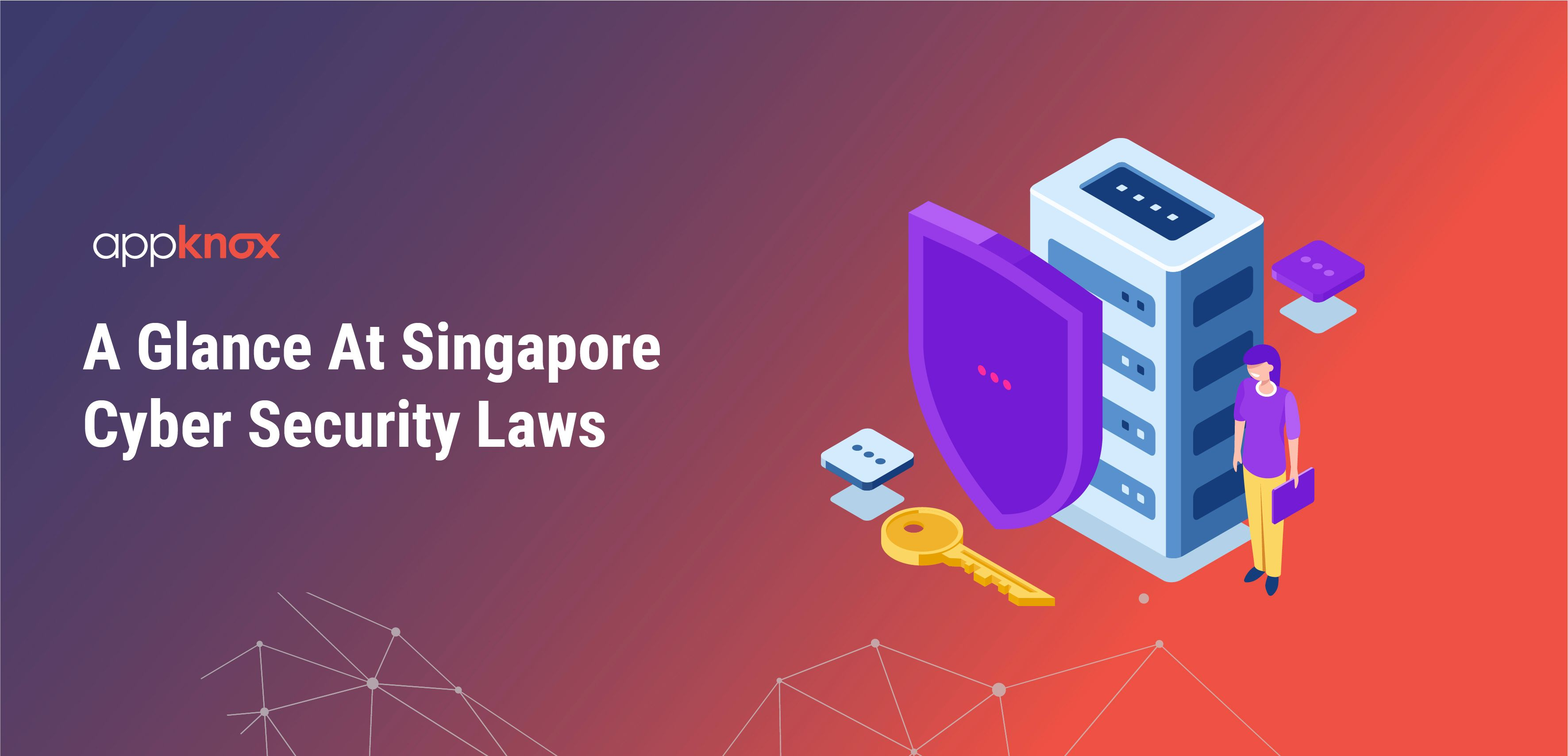 A Glance At Singapore Cyber Security Laws