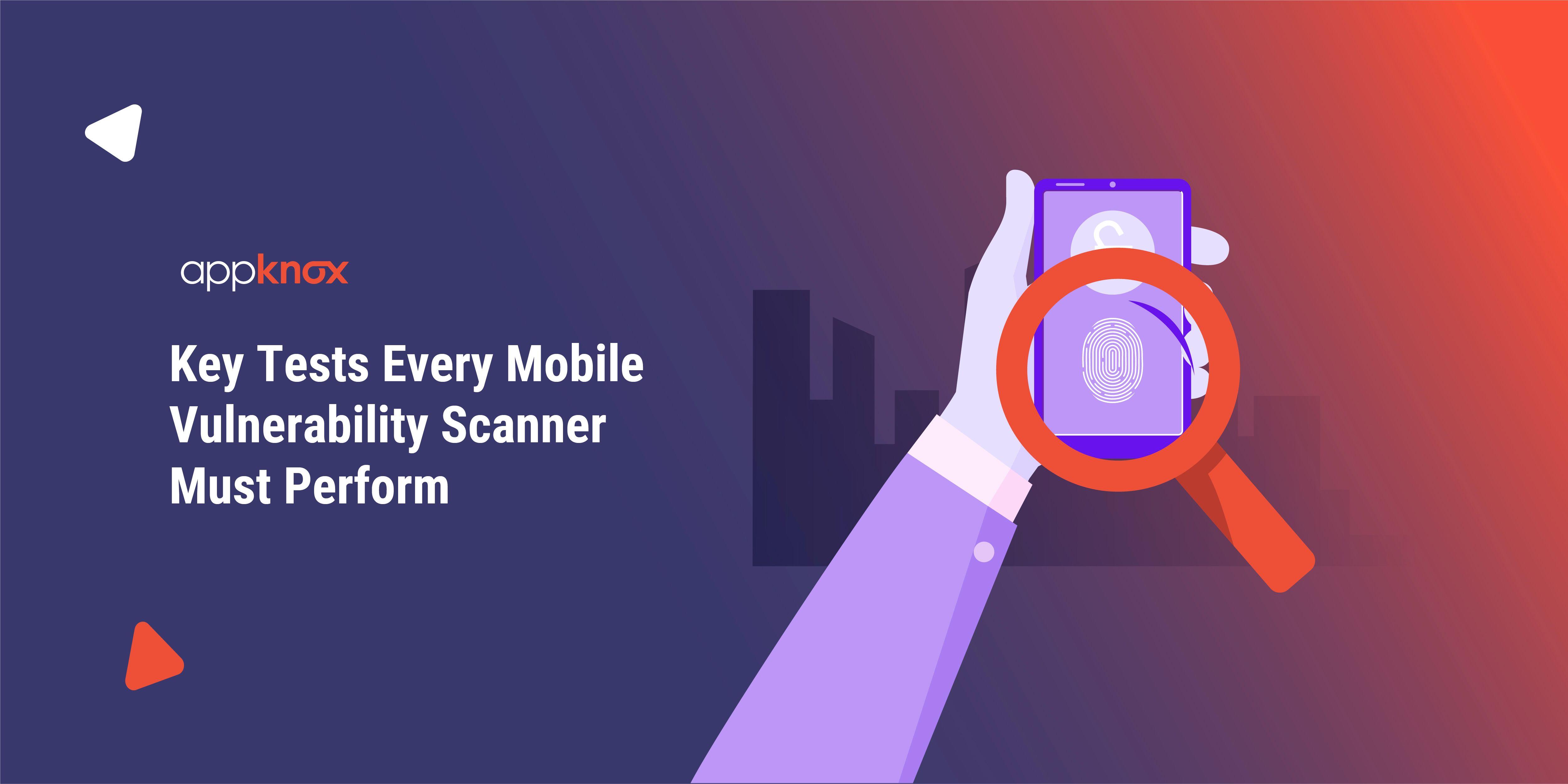 Mobile Vulnerability Scanner