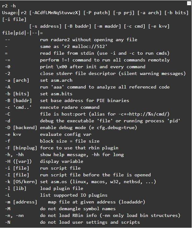 command-line utilities