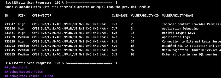 View Output logs