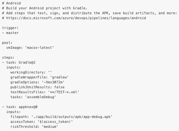 Pipeline for Android