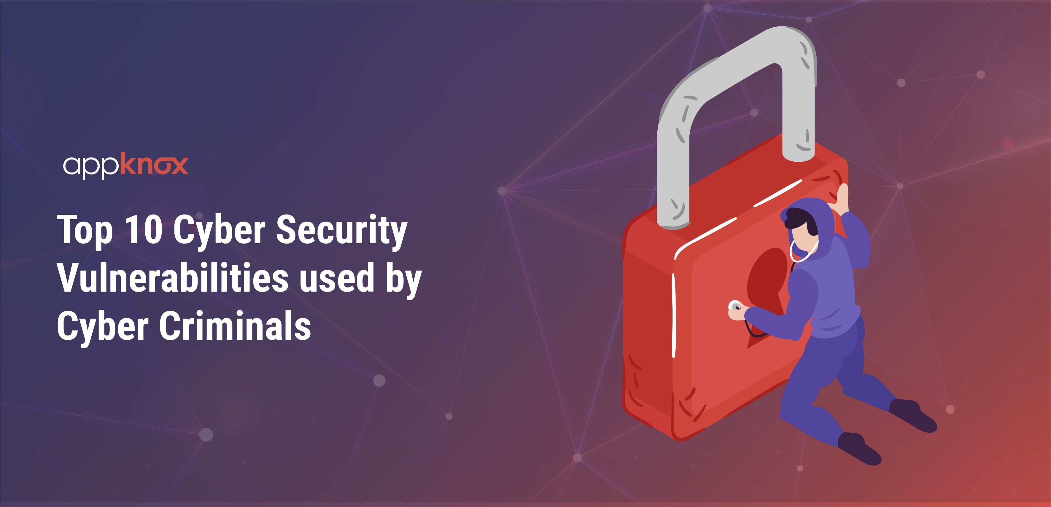Top 10 Cyber Security Vulnerabilities used by cyber criminals