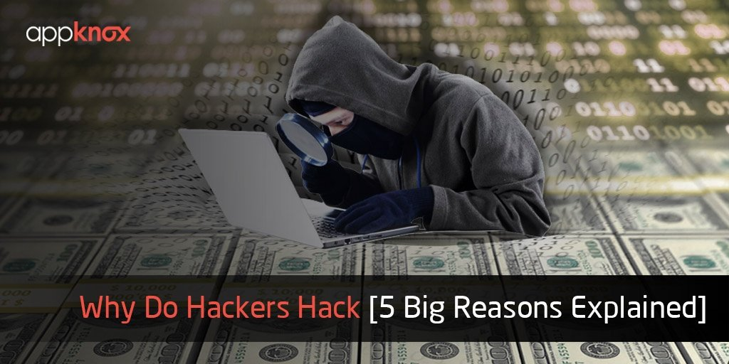 Everything about Why Do Hackers Hack