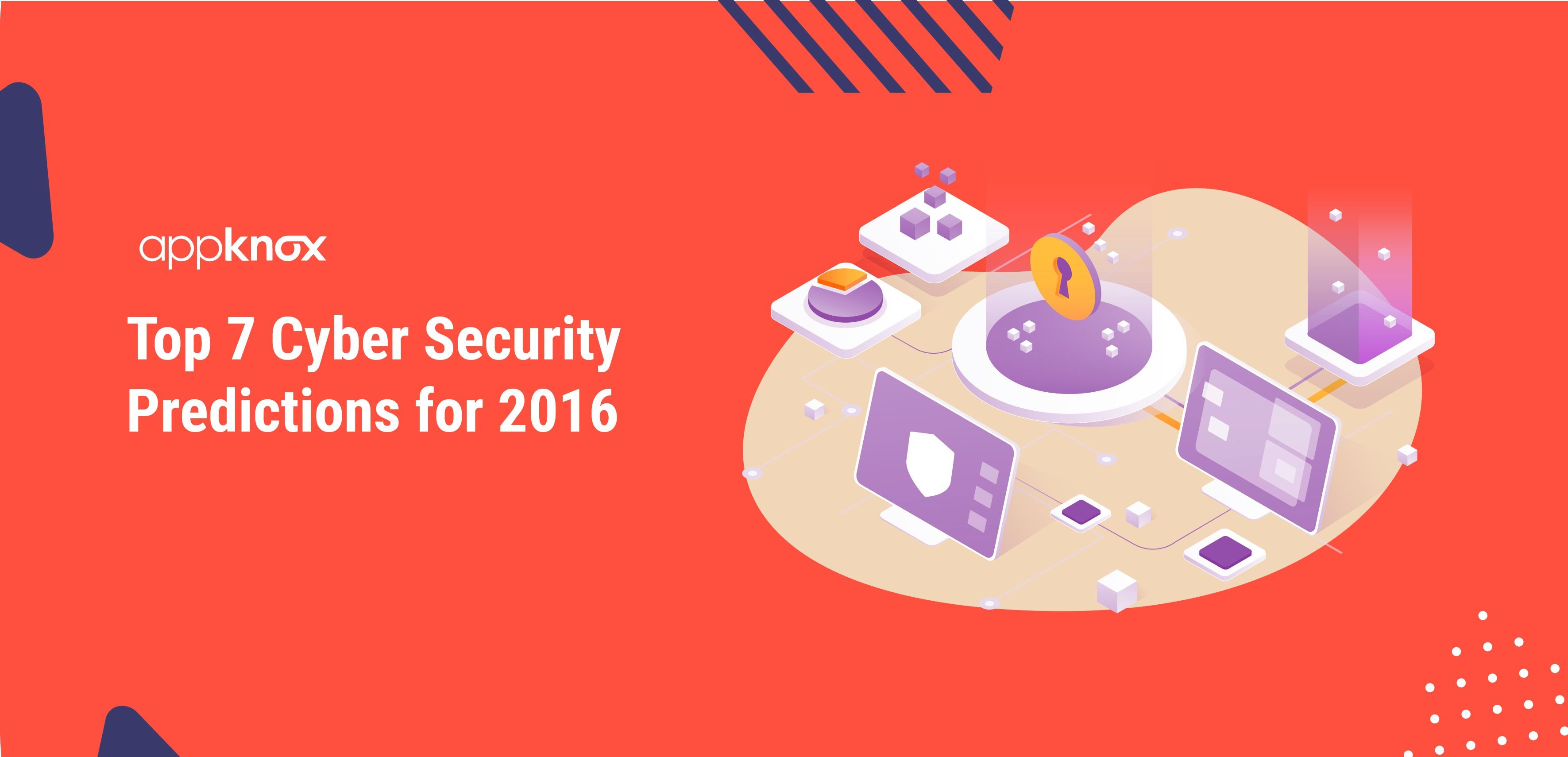 Cyber Security Predictions for 2016